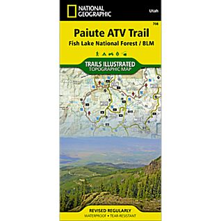 708 Paiute ATV Trail (Fish Lake National Forest, BLM) Trail Map