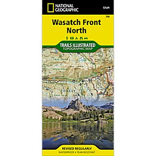 709 Wasatch Front/Strawberry Valley Trail Map