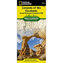 710 Canyons of the Escalante Trail Map, 2006