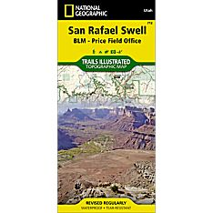 712 San Rafael Swell Trail Map, 2005