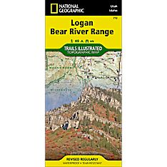 713 Logan, Bear River Range Trail Map