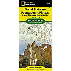 714 Grand Staircase, Paunsaugunt Plateau Trail Map