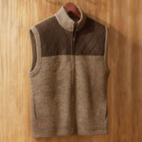 Boiled Wool Sweater - Men's Alpine Explorer's Boiled Wool Vest