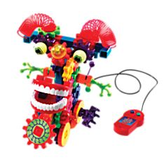 Wacky Wigglers Mechanical Toy Set, Ages 5 and Up