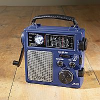 National Geographic Hand-powered Emergency Radio
