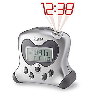 Projection Clock with Temperature