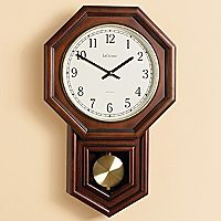 Schoolhouse Radio-controlled Wall Clock