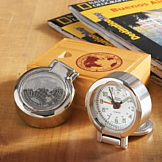 National Geographic Travel Clock