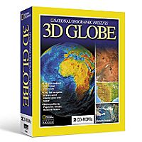 National Geographic 3D Globe CD-ROM Set