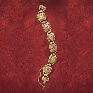 Mongolian-style Filigree Bracelet