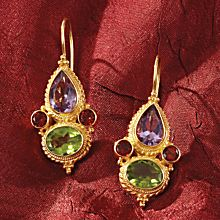 Renaissance Marco Polo Gemstone Earrings