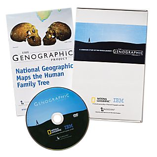 Genographic Project Participation Kit for U.S. and Canada