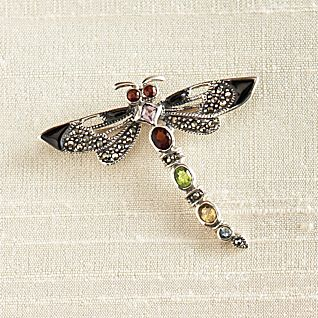 View Thai Dragonfly Brooch image
