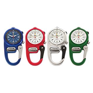 View Carabiner Clip Watch With LED Micro-light image