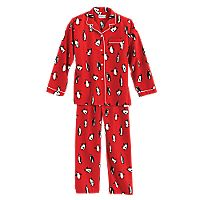 Penguin Flannel Pajamas