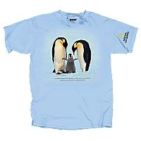 Emperor Penguin T-shirt - Adult Sizes