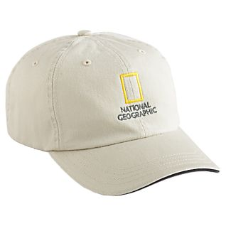National Geographic Khaki Baseball Cap