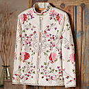 Indian Embroidered Floral Jacket