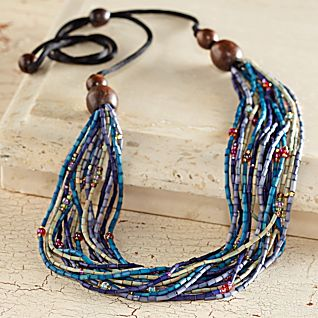 View Maasai Zulugrass Necklace image