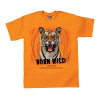 Born Wild Tiger T-shirt - Adult Sizes