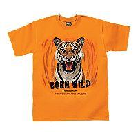 Born Wild Tiger T-shirt - Adult Sizes