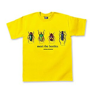 View Meet the Beetles T-shirt - Adult Sizes image