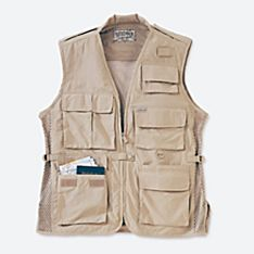Travel Vest Packing