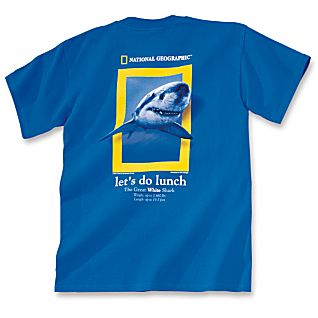 Lets Do Lunch Shark T-shirt - Youth Sizes