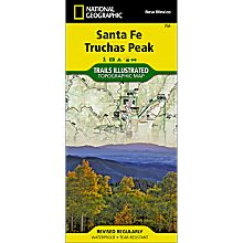 731 Santa Fe, Truchas Peak Trail Map, 2014