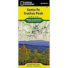 731 Santa Fe, Truchas Peak Trail Map