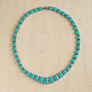 View Chilean Turquoise Necklace image