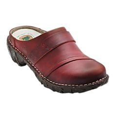 Women's Travel Clog, Made in Spain