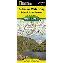 737 Delaware Water Gap Trail Map, 2013