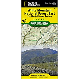 photo: National Geographic Presidential Range/Gorham Map