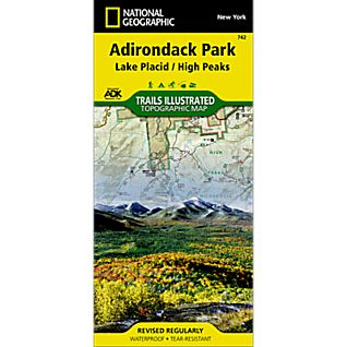 742 Lake Placid/High Peaks Trail Map