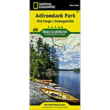 745 Old Forge/Oswegatchie Trail Map, 2004