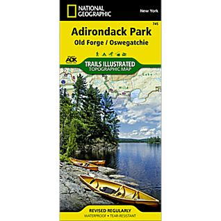 View 745 Old Forge/Oswegatchie Trail Map image