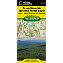 748 Green Mountain National Forest South (Robert T. Stafford White Rocks National Recreation Area, Manchester) Trail Map