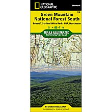 748 Green Mountain National Forest: White Rocks NRA - Manchester Trails Map, 2010