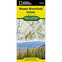 749 Mount Mansfield/Stowe Trail Map