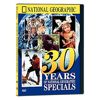 Thirty Years of National Geographic Specials DVD