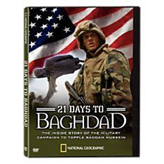 21 Days to Baghdad DVD