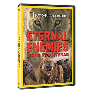 View Eternal Enemies: Lions & Hyenas DVD image