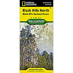 751 Black Hills National Forest - Northeast Trail Map