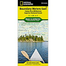 752 Boundary Waters - East, Superior National Forest Trail Map