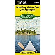 752 Boundary Waters - East, Superior National Forest Trail Map, 2010