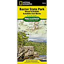754 Baxter State Park (Mount Katahdin, Katahdin Iron Works) Trail Map