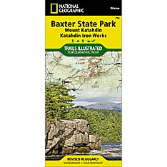 754 Baxter State Park Trail Map, 2011