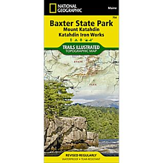 754 Baxter State Park Trail Map