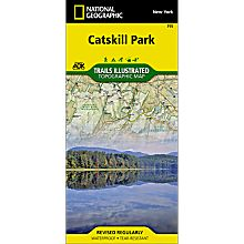 755 Catskill Park Trail Hiking Map